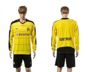 Camiseta nueva Dortmund Manga Larga Primera 15/16