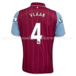 Camiseta del Vlaar Aston Villa Primera Equipacion 2014/15