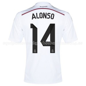 Camiseta de Real Madrid 2014/2015 Primera Alonso Equipacion