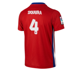 Camiseta nueva del Atletico Madrid 2015/2016 Equipacion SIQUEIRA Primera