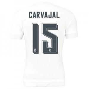 Camiseta del Numero 15 CARV Real Madrid Primera Equipacion 2015/2016