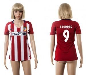 Camiseta nueva del Atletico Madrid 2015/2016 9 Mujer