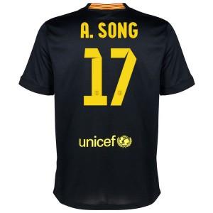 Camiseta Barcelona A.Song Tercera Equipacion 2013/2014