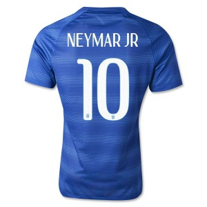 Camiseta nueva del Brasil de la Seleccion WC2014 Neymar JR Segunda