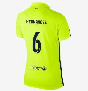 Camiseta Barcelona Segunda Equipacion 2013/2014 Mujer