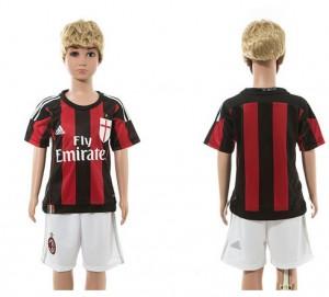 Camiseta nueva del AC Milan 2015/2016 Niños