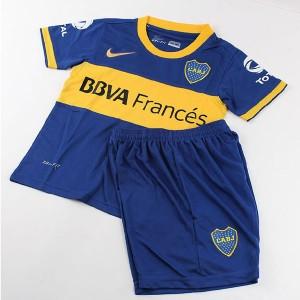 Camiseta de Boca Juniors 2014 Primera Equipacion Nino