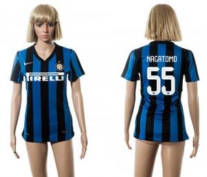 Camiseta nueva del Inter Milan 2015/2016 55 Mujer