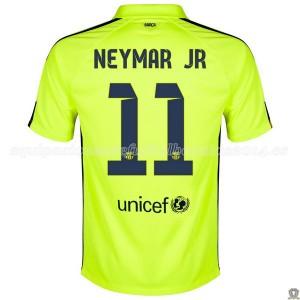 Camiseta del Neymar JR Barcelona Tercera 2014/2015