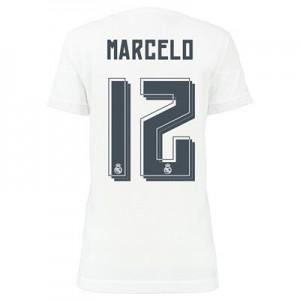 Camiseta Real Madrid MARCELO Primera Equipacion 2015/2016 Mujer