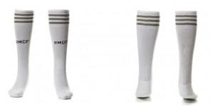 Thai version of the socks Real Madrid Home 15-16 Niños
