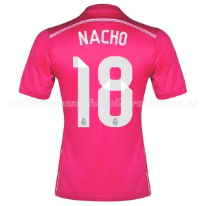 Camiseta de Real Madrid 2014/2015 Segunda Nacho Equipacion