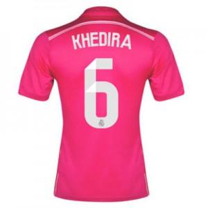 Camiseta de Real Madrid 2014/2015 Segunda Khedira Equipacion