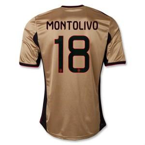 Camiseta de AC Milan 2013/2014 Tercera Montolivo Equipacion