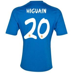 Camiseta nueva Real Madrid Hguain Equipacion Segunda 2013/2014