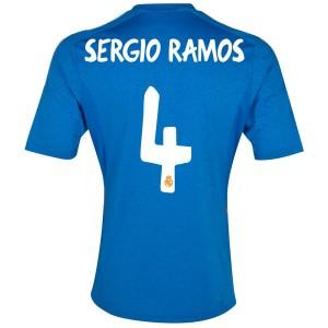 Camiseta del Sergio Ramos Real Madrid Segunda 2013/2014