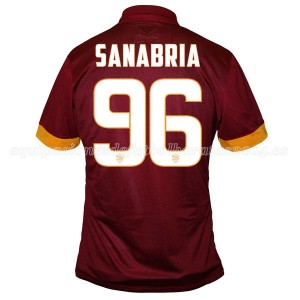 Camiseta AS Roma Sanabria Primera Equipacion 2014/2015