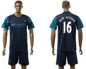 Camiseta Manchester City 16# Away