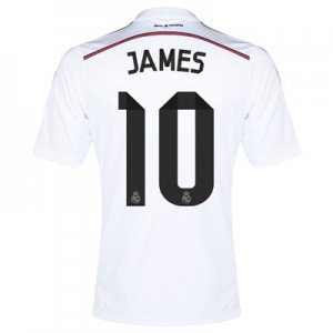 Camiseta de Real Madrid 2014/2015 Primera James Equipacion