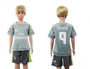 Camiseta nueva del Real Madrid 2015/2016 9 Niños Away