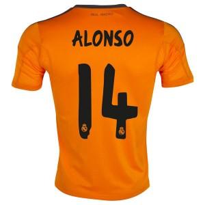 Camiseta nueva del Real Madrid 2013/2014 Equipacion Alonso Tercera
