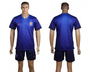 Camiseta del Holanda de la Seleccion Segunda WC2014