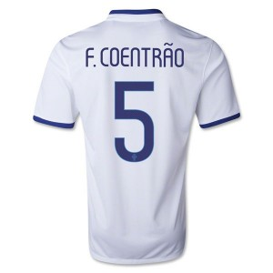 Camiseta nueva del Portugal de la Seleccion 2013/2014 F Coentrao Segunda