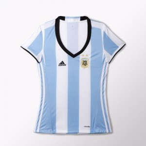 Mujer Camiseta del Argentina Home 2016