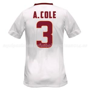 Camiseta del A.Cole AS Roma Segunda Equipacion 2014/2015