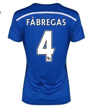 Camiseta nueva del Chelsea 2013/2014 Equipacion David Luiz Segunda