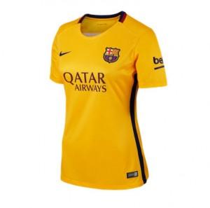 Camiseta nueva del Barcelona 2015/2016 Equipacion Mujer Segunda