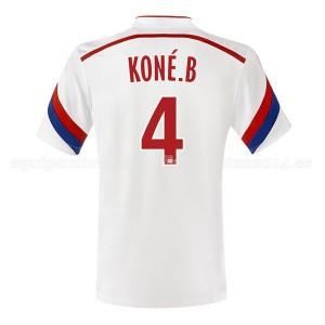 Camiseta nueva Lyon Kone Primera 2014/2015