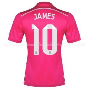 Camiseta Real Madrid James Segunda Equipacion 2014/2015