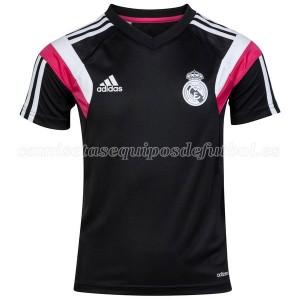 Camiseta nueva del Real Madrid 2014 Negro Entrenamiento