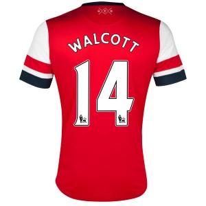 Camiseta de Inglaterra de la Seleccion 2013/2014 Primera Walcott
