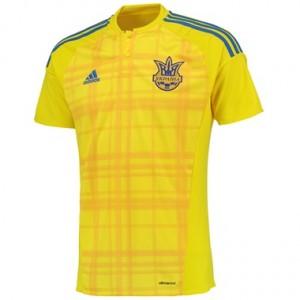 Camiseta nueva Ucrania Equipacion Primera 2016