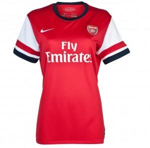 Camiseta nueva Arsenal FC Mujer Equipacion Primera 2013/2014