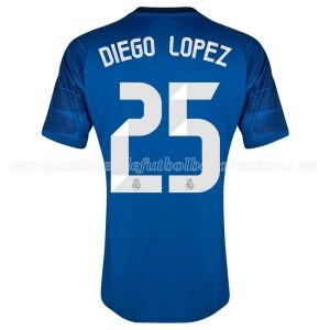 Camiseta Portero del Diego Lopez Equipac Real Madrid Primera