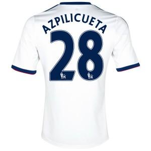 Camiseta nueva Chelsea Azpilicueta Equipacion Segunda 2013/2014