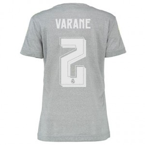 Camiseta Real Madrid VARANE Segunda Equipacion 2015/2016 Mujer