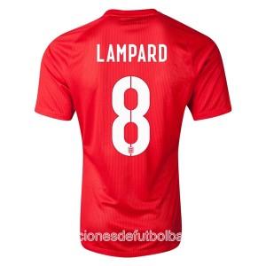 Camiseta nueva Inglaterra de la Seleccion Lampard Segunda WC2014