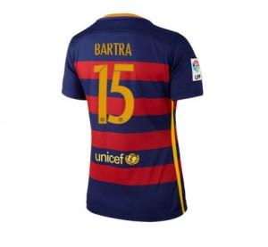 Camiseta nueva Barcelona Mujer Numero 15 Equipacion Primera 2015/2016