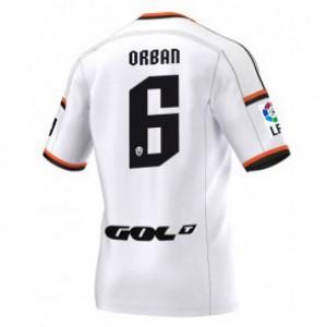 Camiseta nueva del Valencia 2014/2015 Equipacion Lucas Orban Primera