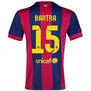 Camiseta de Barcelona 2014/2015 Primera BARTRA Equipacion