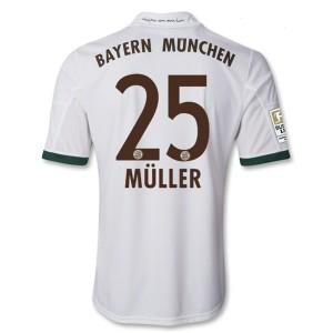 Camiseta de Bayern Munich 2013/2014 Tercera Muller Equipacion