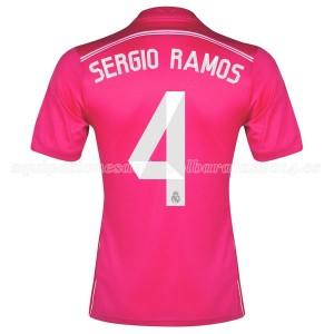 Camiseta nueva del Real Madrid 2014 Equipacion Sergio Ramos Segunda