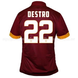 Camiseta AS Roma Destro Primera Equipacion 2014/2015
