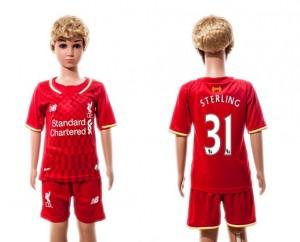 Camiseta Liverpool 31 2015/2016 Niños
