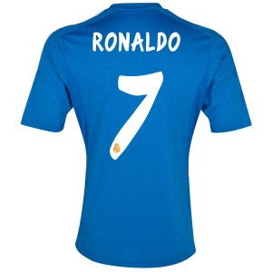 Camiseta del Ronaldo Real Madrid Segunda Equipacion 2013/2014