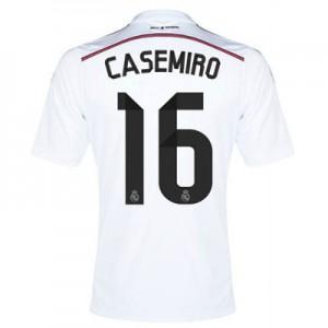 Camiseta Real Madrid Casimiro Primera Equipacion 2014/2015